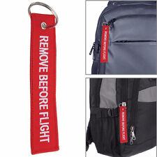 Fashion Boy Girls Key Chain Luggage Tag Bag Schoolbag Woven Embroidery Keychain