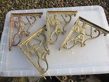 Brass Shelf Holder Cistern Brackets Knight Roman Soldier Architectural  Shelve 4