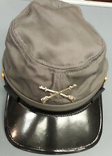 REPRODUCTION CONFEDERATE CIVIL WAR  CHILDRENS KEPI ADJUSTABLE