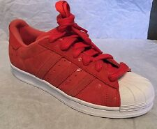 Adidas Superstar Originals Tomato Red Classic Retro Womens Sneaker  S77411
