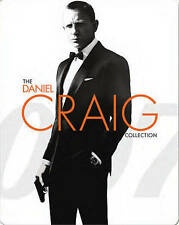 007: The Daniel Craig Collection (Blu-ray Disc,Digital Copy Steelbook)Brand New
