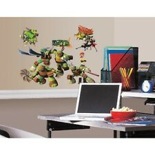 New TEENAGE MUTANT NINJA TURTLES WALL DECALS Kids Bedroom Stickers Room Decor