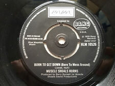 """Muscle Shoals Horns - Born To Get Down 7"""" Vinyl Single NM Northern Soul London"""