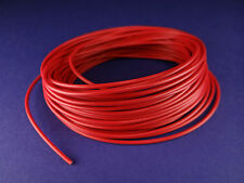 PVC Litze/Kabel 0,25mm² 10m Rot Made in Germany
