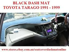DASH MAT, BLACK DASH MAT, DASHBOARD COVER FIT TOYOTA TARAGO 1991-1999, BLACK