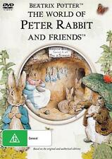 THE WORLD OF PETER RABBIT AND FRIENDS -  NEW & SEALED DVD - FREE LOCAL POST