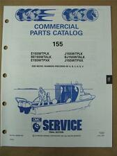 1991 Johnson Evinrude 155 HP WTPL WTPX Commercial Outboard Parts Catalog 434266