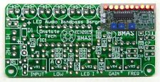 10 LED Bargraph Display PCB, DIY audio color organ spectrum analyzer meter board