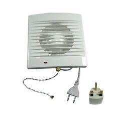 """4""""100mm Bathroom Square Extractor Fan Kitchten Toilet Exhaust Fan Wall Window"""