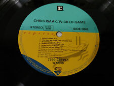 "CHRIS ISAAK WICKED GAME LP VINILO VINYL 12"" 1991 GERMAN ED VG ONLY LP NO COVER"