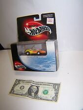 100% Hot Wheels Dean Jefferies Mantaray -Flames  Boxed With Plastic Case - 2000