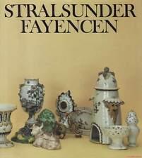 Fachbuch Stralsunder Fayencen 1755–1792 REDUZIERT STATT 19,80 Euro NEU TOLL