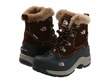 NIB The North Face Kids McMurdo Boot Boots Snow Size 2 Youth Brown Pink $65