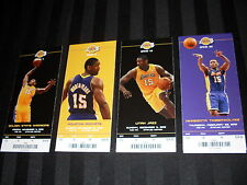 NBA LOS ANGELES LAKERS METTA WORLD PEACE RON ARTEST TICKET STUBS 2012-13 SEASON