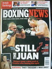BOXING NEWS 5 AUGUST 2010 JUAN MANUEL MARQUEZ DEFEATS JUAN DIAZ