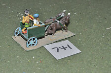 ancient philistine chariot 1 (741) 25mm painted