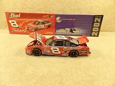 New 2002 Action 1:24 Diecast NASCAR Dale Earnhardt Jr Budweiser Bud CW HOTO #8