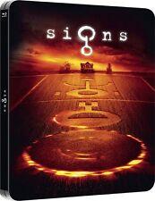 Signs (Steelbook) Embossed NEW Blu-ray