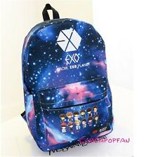 Exo exo-k exo-m luhan kris kai lay sehun SCHOOLBAG Backpack Kpop NEW