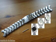 20mm S/steel bracelet.band.strap to replace TAG Heuer LINK series Diamond BA0575