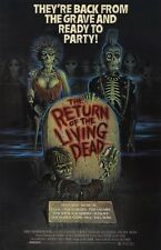 The Return Of The Living Dead movie poster 11 x 17 inches  Zombie poster Horror
