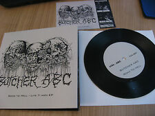 BUTCHER ABC road to hell 7INCH DEAD GENERAL SURGERY CSSO BLOOD PUTRID OFFAL