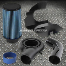 FOR 97-03 DODGE DURANGO/DAKOTA 5.2/5.9 COLD AIR INTAKE BLACK PIPING+HEAT SHIELD