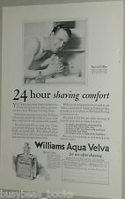 1925 Aqua Velva advertisement, Williams, aftershave 4c bottle offer