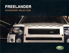 LAND ROVER FREELANDER ACCESSORI 2003-05 UK MARKET FOLDOUT SALES BROCHURE