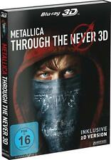 3D BLURAY METALLICA Through the Never 2Disc Edition 3BD incl. 2D Version NEU OVP