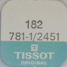 TISSOT CAL. 781-1, 2451 FEDERHAUS MIT DECKEL PART No. 182   ~NOS~