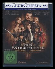 BLU-RAY DIE DREI (3) MUSKETIERE (2011) - ORLANDO BLOOM + CHRISTOPH WALTZ * NEU *