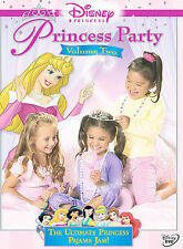 "Disney's ""Princess Party - Volume Two"" (DVD, 2006) w/Fast FREE Shipping!"