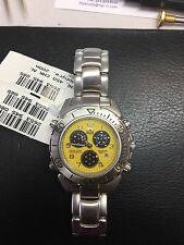 Sector 450 Chrono Alarm Yellow And Black Dial  Breitling Caliber 59 Movement