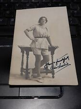 transsexual, transgender, transvestite cross-dresser VINTAGE POSTCARD BURNLEY  m