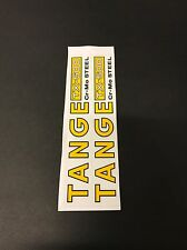 Tange TX -500  Fork STICKERS Decals Old School Bmx