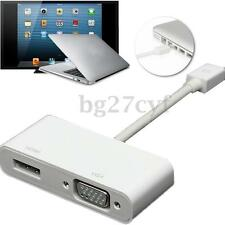 Mini Display Port DP Thunderbolt to HDMI VGA Adapter Cable for Apple MacBook Pro