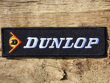 ECUSSON PATCH aufnaher toppa THERMOCOLLANT DUNLOP moto motard supermotard motogp