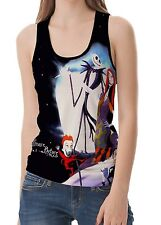 Nightmare Before Christmas Women's Vest Sleeveless Tank Top S M L XL 2XL