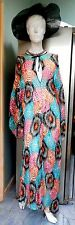 Missoni Dress Silk Chiffon Assymmetric Kaftan Style M UK 12 14 16 @ £1200 Cruise