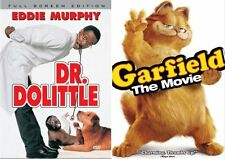 Doctor Dolittle & Garfield (New Sealed DVD) Region 2 NEW AND SEALED