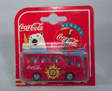 JA Majorette 262 Neoplan Coach Coca-Cola Coke Promotional HO1:87 Scale Model Bus