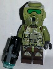 LEGO Star Wars KASHYYYK TROOPER Minifigure 75035 Commander Grees Green ARF Clone