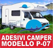 KIT ADESIVI CAMPER P07 STICKERS TUNING ARCA LAIKA MC LOUIS ELNAGH RIMOR IVECO