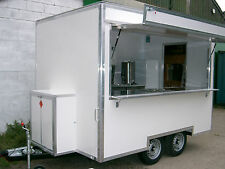 Brand New 12 ft Mobile Catering Trailer for Sale / Burger Van  TYPE APPROVED