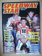 SPEEDWAY Star, 1 MAGGIO 1993-Screen VINCE 21 FINAL-INTERVISTE C Stonehewer, D Norris