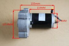 1Pc Used DC12V Brush Worm Gear Motor Reducing Motor 150W Large Torque High-power