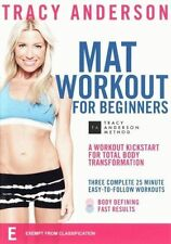 Tracy Anderson Mat Workout for Beginners DVD NEW