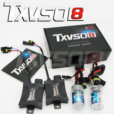 55W HID Kit de conversion Bi Xénon H7 5000K Slim 2xBallast + 2xAmpoules Full Car