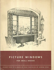 Picture Windows for Small Houses Detroit Steel Products Company Vintage